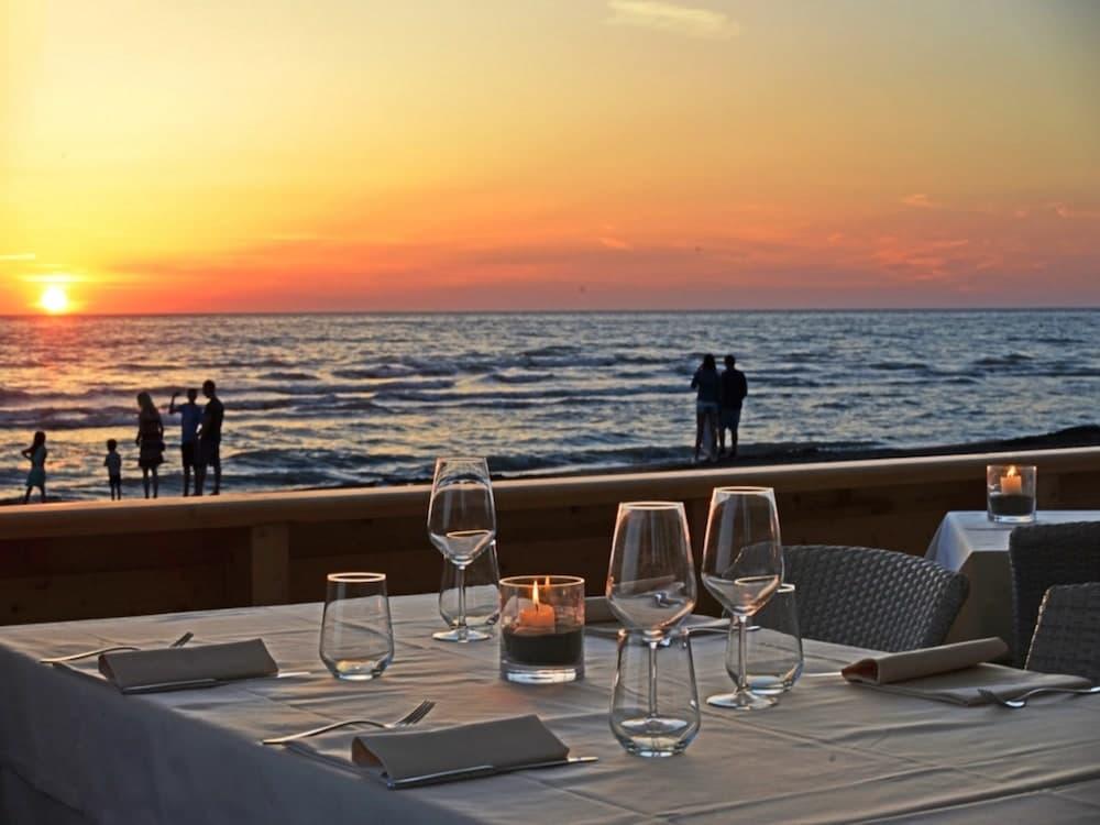 ristorante spiaggia paradu