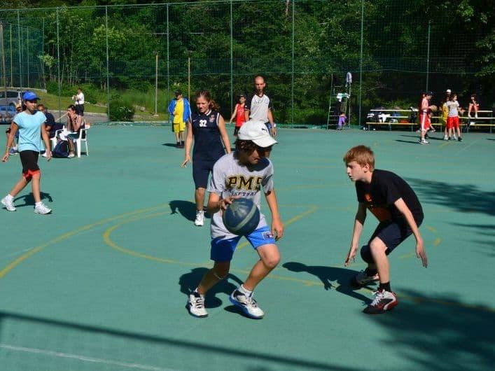 camp basket