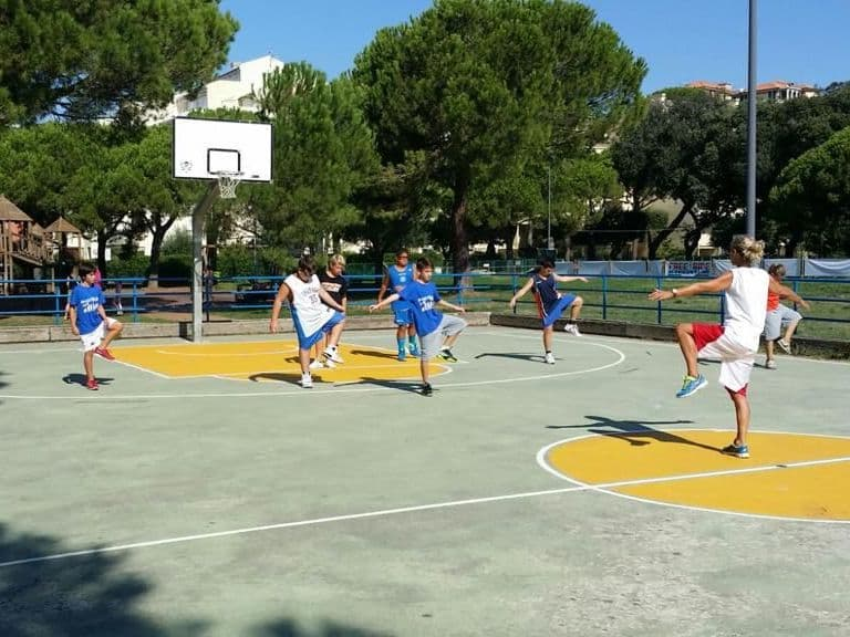 camp pallacanestro